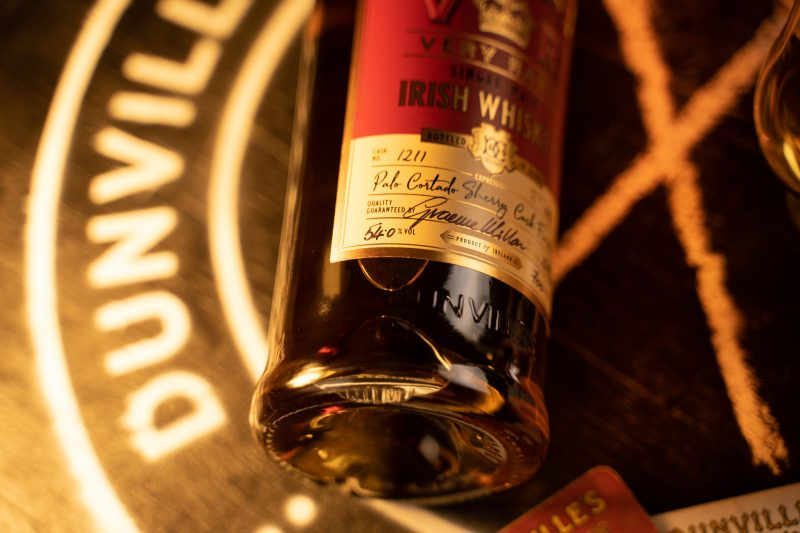 New Palo Cortado Sherry Cask Finish from Dunville's Irish Whiskey