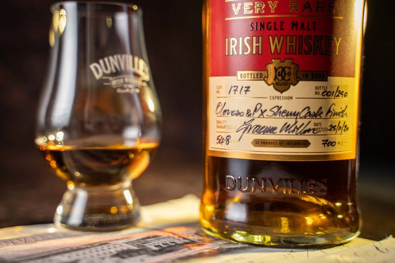 Dunville's 20 Year Old Oloroso & PX Sherry Casks Finish launch