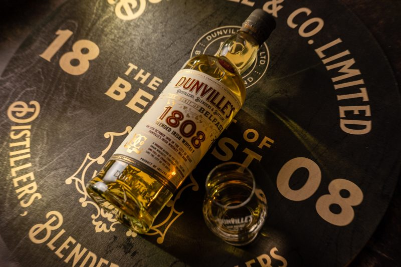 Introducing Dunville's 1808 Blended Irish Whiskey