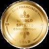 San Francisco World Spirits Competition 2021 Gold Medal