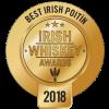 Best Irish Poitin award logo Irish Whiskey Awards 2018
