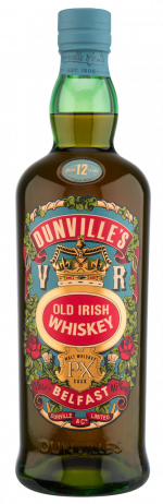 Dunville's PX 12 Year Old Whiskey bottle