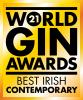World Gin Awards Logo Best Irish Contemporary Gin