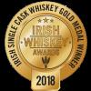 Irish Whiskey Awards 2018 Irish Single Cask Gold Medal