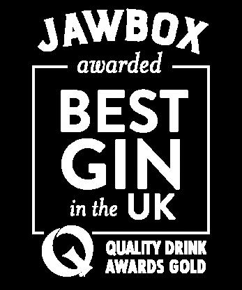 Jawbox Gin Best Gin in the UK award logo