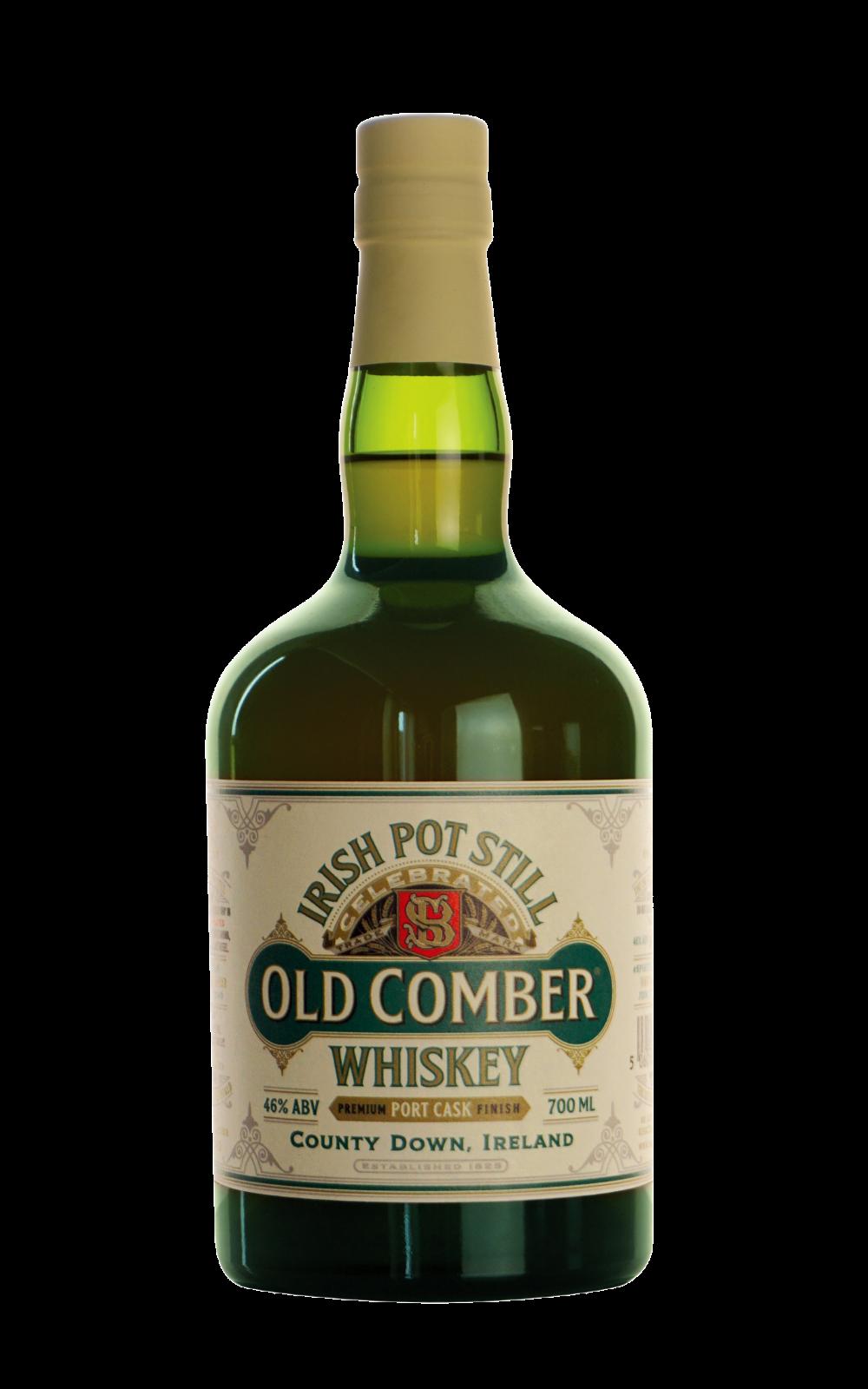 Old Comber Irish Pot St Whiskey bottle