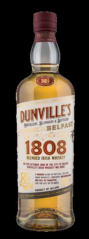 Dunville's 1808 Irish Whiskey bottle image
