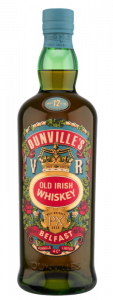 Dunville's PX 12 Year Old Single Malt Irish Whiskey bottle