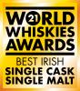World Whiskies Awards 2021 Best Irish Single Cask Single Malt logo