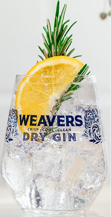 Weavers Irish Gin Glass