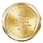 San Francisco World Spirits Competition Double Gold Medal logo