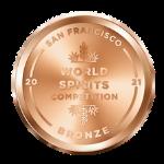 San Francisco World Spirits Competition 2021 Bronze medal