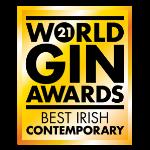 World Gin Awards 2021 Best Contemporary Irish Gin logo