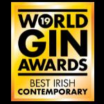 World Gin Awards Best Contemporary Irish Gin 2019 logo