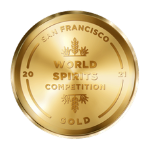 San Francisco World Spirits Competition Gold Medal 2021