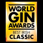 World Gin Awards Best Irish Classic Gin 2019 logo