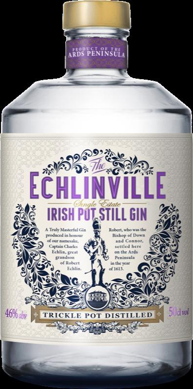 Echlinville Gin bottle