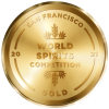 San Francisco World Spirits Competition 2021 Gold Medal Logo