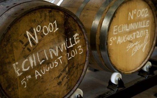 Echlinville Whiskey Casks Number 1 and 2