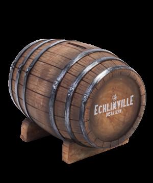 The Echlinville Distillery coin barrel
