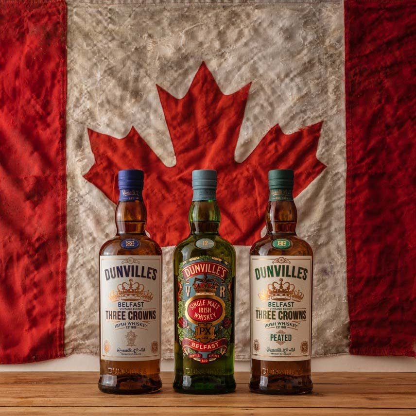 Dunville's Irish Whiskey now available in Canada