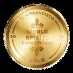 San Francisco World Spirits Competition 2021 Gold logo