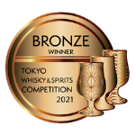 Tokyo Whisky Competition 2021 Bronze medal logo