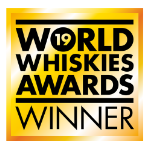 World Whiskies Awards 2019 Category Win Dunville's Peated logo
