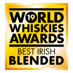 Best Irish Blended Whiskey award logo from World Whiskies Awards 2019