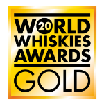 World Whiskies Awards Gold award logo 2020