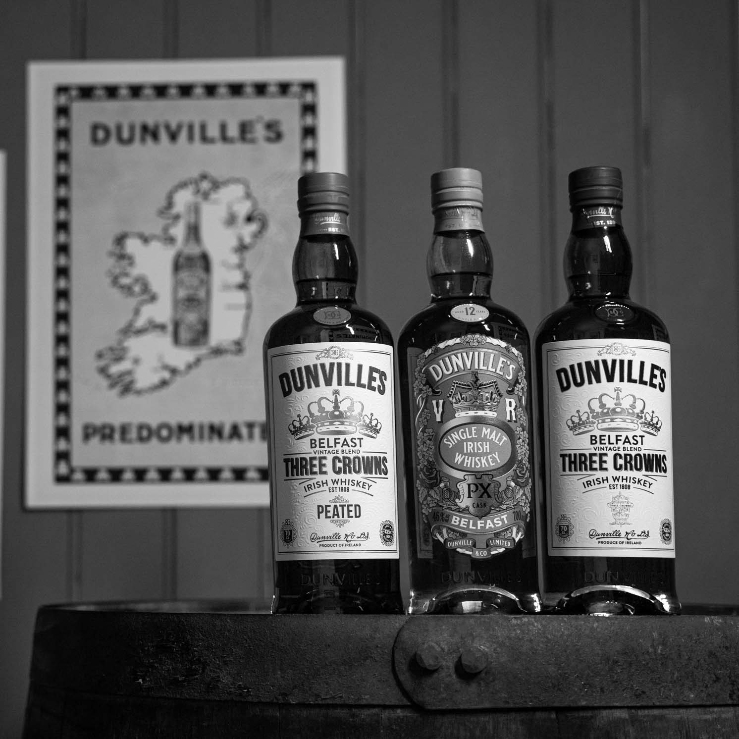 Dunville's Irish Whiskey website goes live