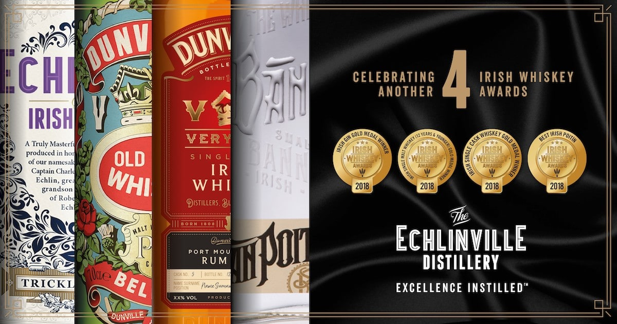 Successful night at the Irish Whiskey Awards