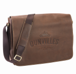 Dunville's Brown Leather satchel