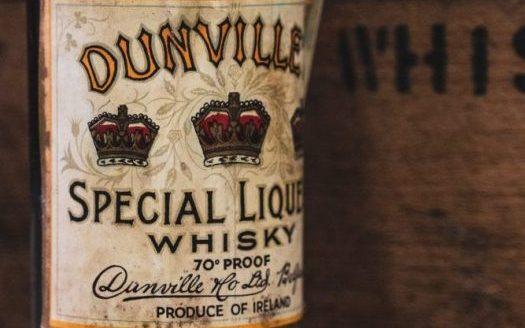 Dunville's Special Liqueur antique bottle