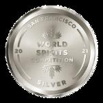 San Francisco World Spirits Competition 2021 Silver Medal logo