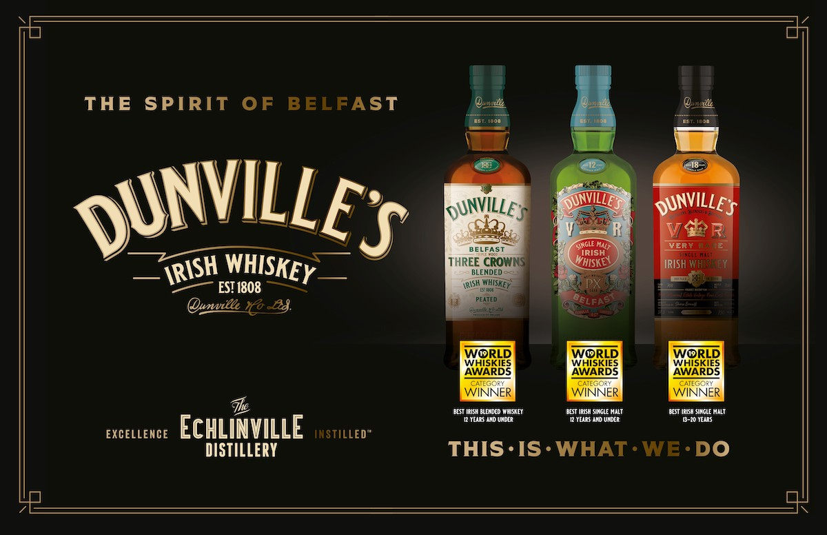 Echlinville in triple win at World Whiskies Awards