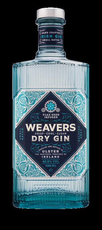 Weavers Gin bottle