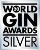 World Gin Awards Silver Award Logo