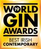 World Gin Awards 2019 logo Best Irish Contemporary Gin