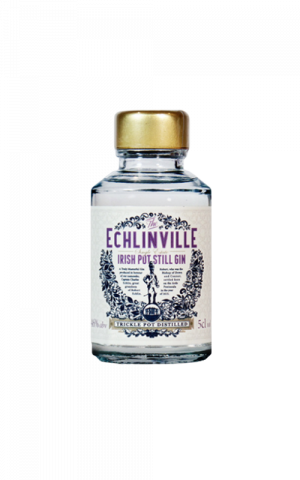 Echlinville Gin miniature bottle.