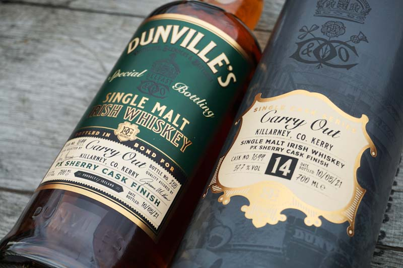 Dunville's Exclusive Single Cask for Carry Out Killarney