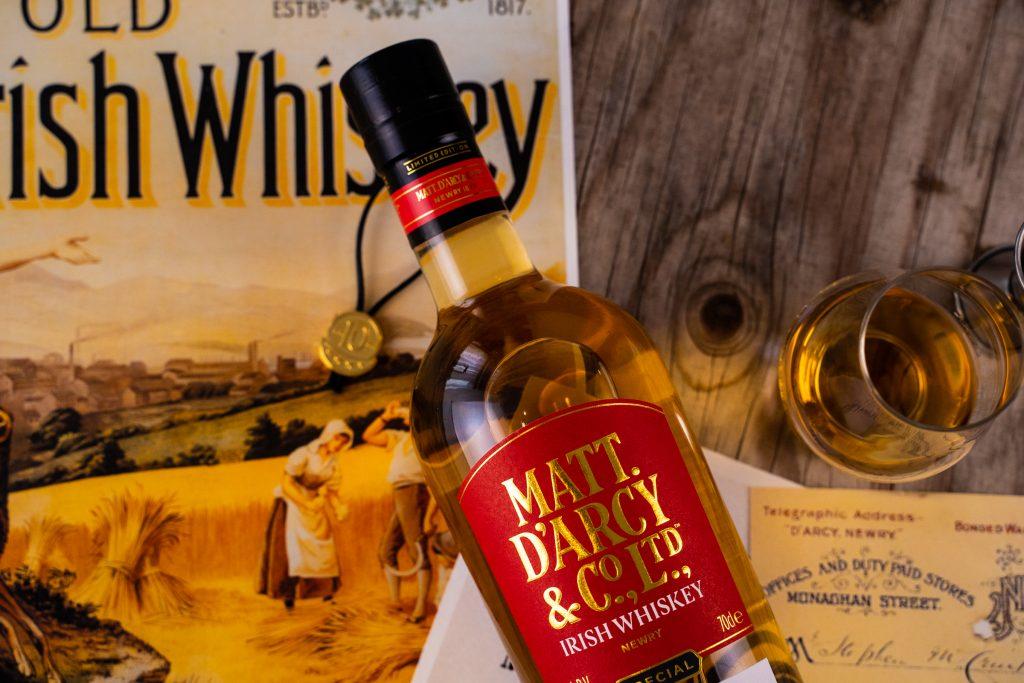 Matt DArcy Whiskey Bottle