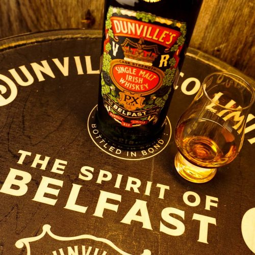 Dunville's PX Cask Strength release for Belfast Whiskey Week