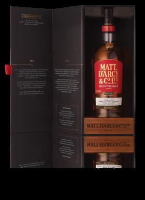 Matt D'Arcy 10 Year Old Irish Whiskey Gift Box