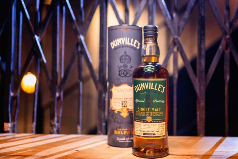 Dunville's Whiskey exclusive for James J. Fox, Dublin